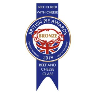 Beef in beer with cheese pie